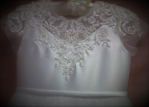 TU61 Designer Communion Dress
