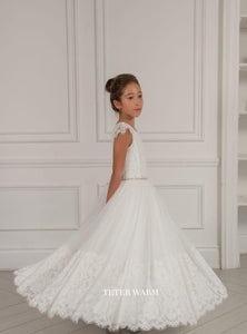 Teter Warm 1st Communion Dress TW282 - Nenes Lullaby Boutique Inc