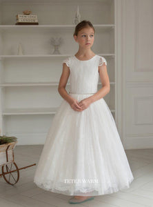 Teter Warm 1st Communion Dress TW288 - Nenes Lullaby Boutique Inc
