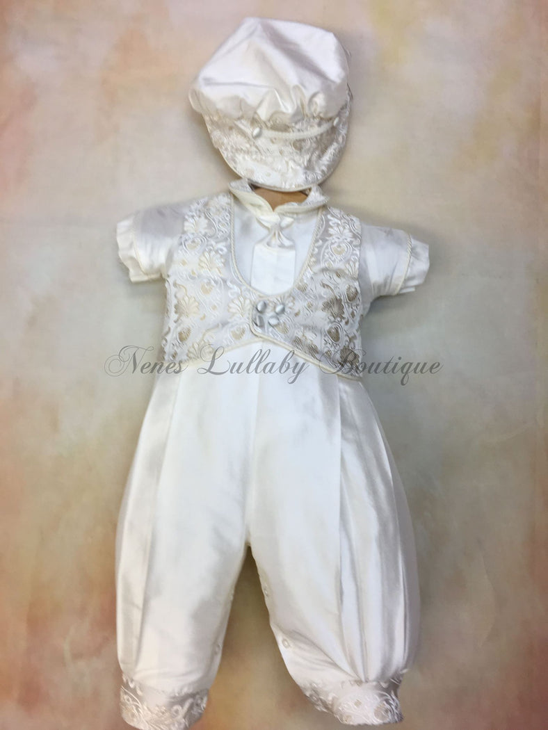 Tony Christening outfit by Piccolo Bacio
