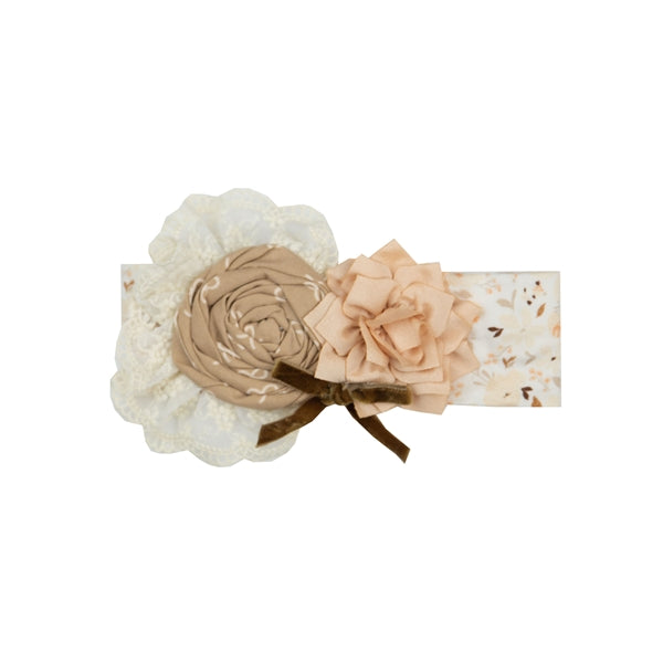 YCC07 Girls C'est Chic headband by Haute Baby - Nenes Lullaby Boutique Inc