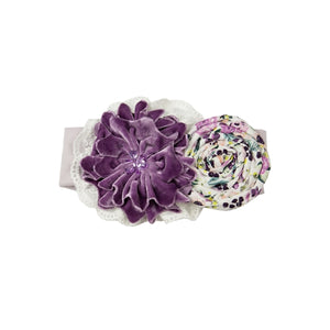 YPP08 Plum Perfect headband by Haute Baby