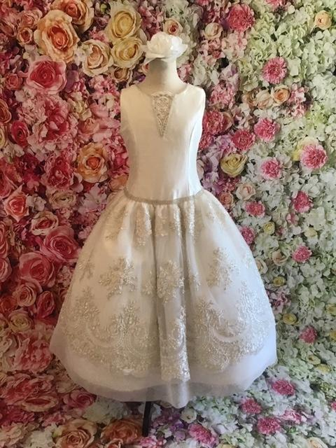 Christie Helene Couture Communion Dress Caroline - Nenes Lullaby Boutique Inc