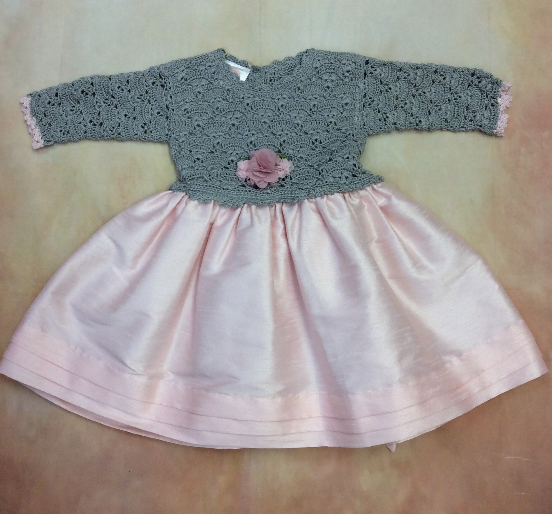Katie Rose Layette Dress Brenda