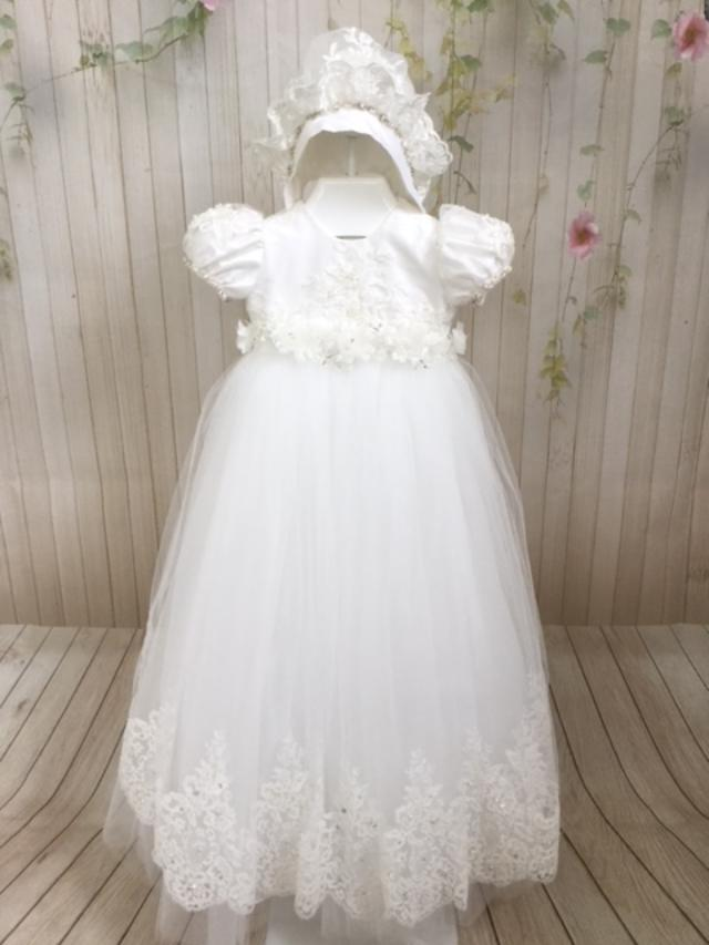 Lourdes Christening Gown by Christie Helene Couture