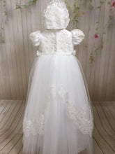 Load image into Gallery viewer, Lourdes Christening Gown by Christie Helene Couture