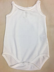 Christening Tank - Nenes Lullaby Boutique Inc