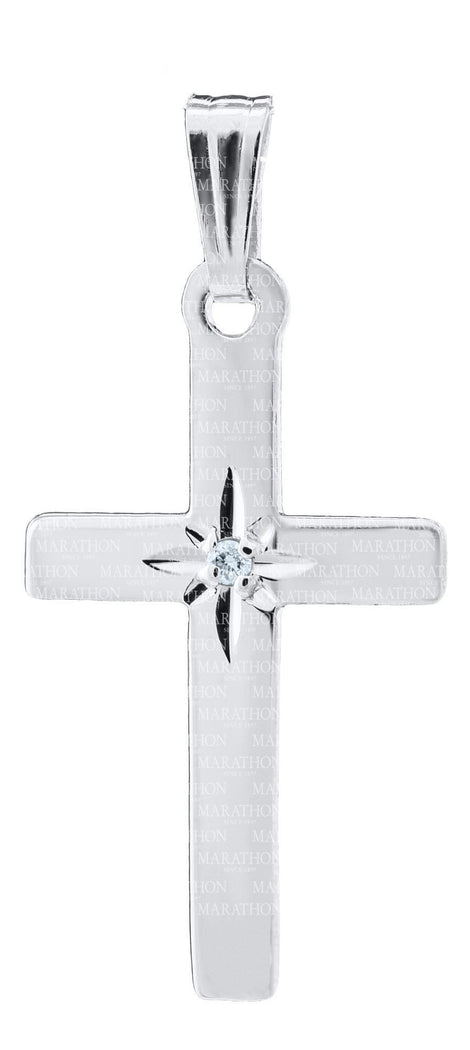 Baby Sterling Silver Cross KKP614