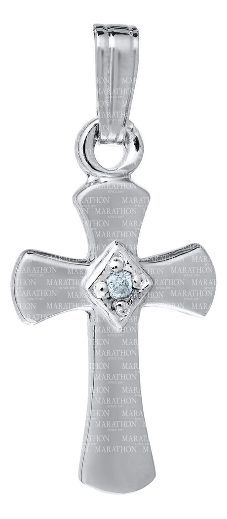 Baby Sterling Silver Cross KKP703