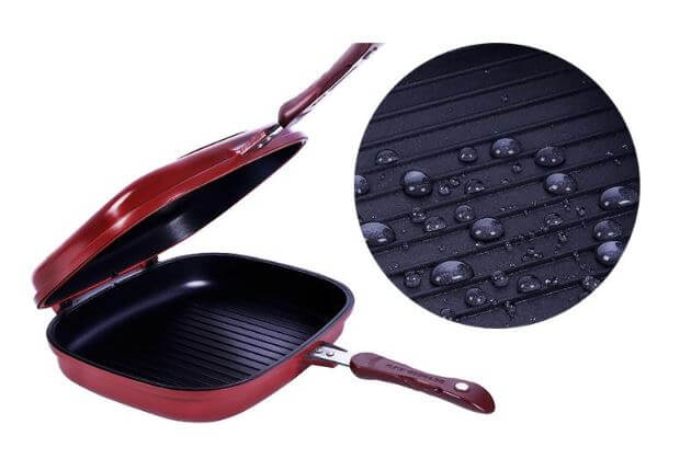 🛒 Happy Call Double Sided Non- Stick Grill & Frying Pan – Gr8 Trendz