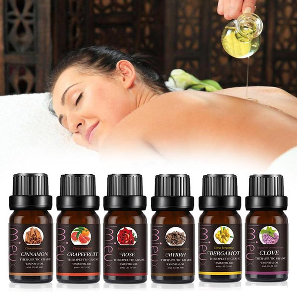 10ml Pure Essential Oils  For Organic Body Massage  Relax Fragrance Oil  Aromatherapy Diffusers