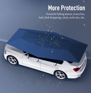 4.2M Car Umbrella Manual