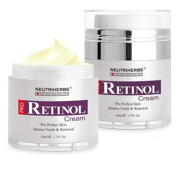 Retinol Moisturizer Cream for Face and Eye Area  With Hyaluronic Acid, Vitamin E    Best Day and Night Anti Aging Formula 50g/pc