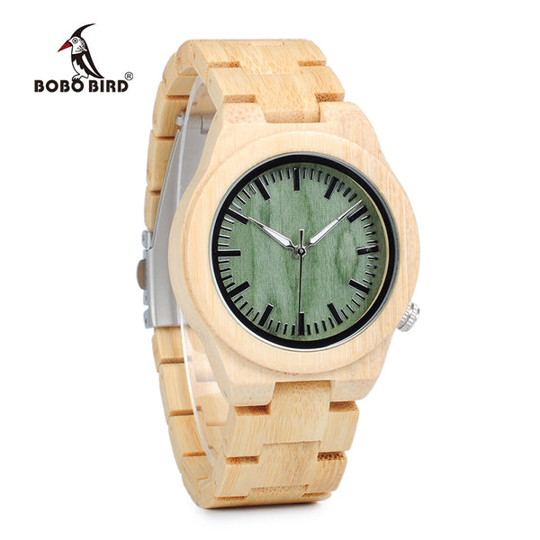 BOBO BIRD  Hot Bamboo Wood Watch for Women