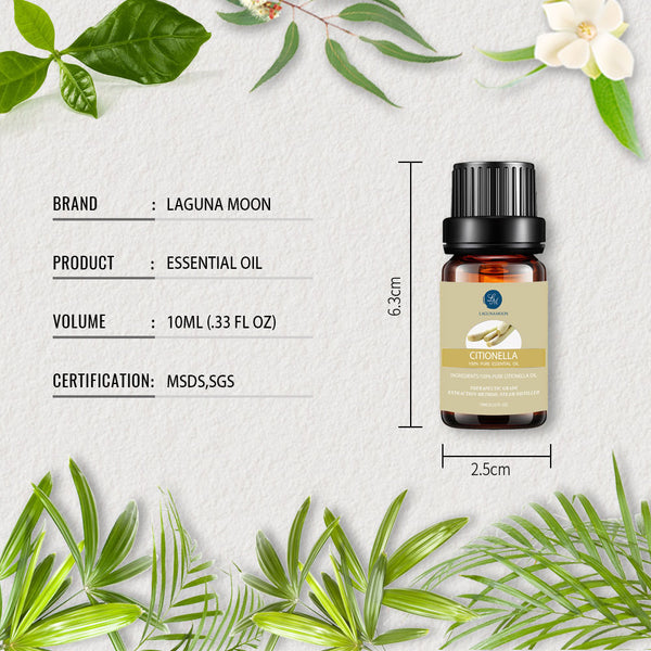 Lagunamoon 10ML Pure Essential Oils