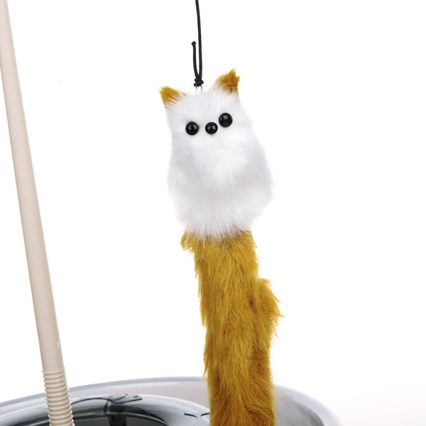 Cat Toy Teaser with Little Mouse Balls  With Catnip Interactive