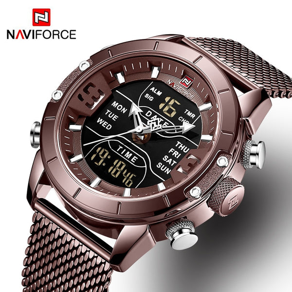 NAVIFORCE Analog Digital Watches