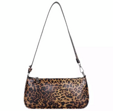 Load image into Gallery viewer, EVE FAUX ANIMAL PRINT HANDBAG- LEOPARD