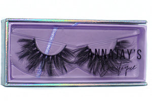 'WEST HOLLYWOOD' 3D MINK FALSE EYELASHES