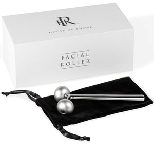 Facial Roller Massager with Box and Travel Bag