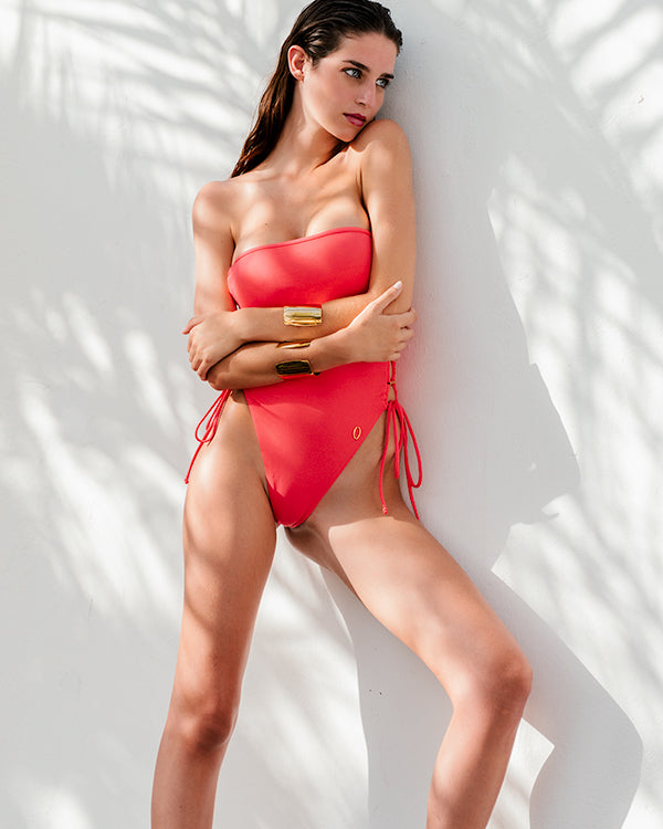 SEIA One-Piece | Coral Red