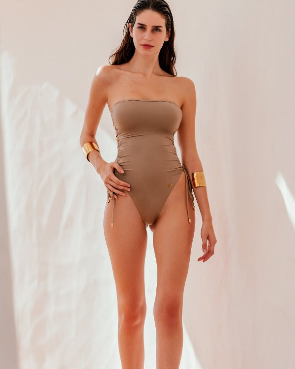 SEIA One-Piece | Sand Brown