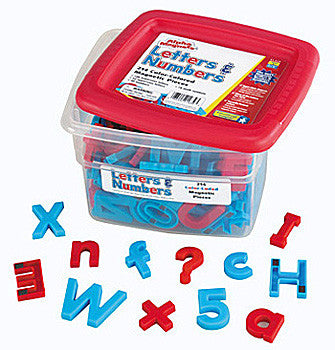AlphaMagnets & MathMagnets Super Set-2 Colored