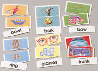 Same Word Different Meaning - Homonyms Puzzles