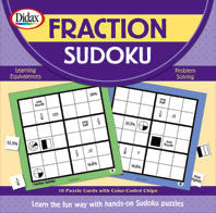 Fraction Sudoku Hands-On Sudoku Puzzles