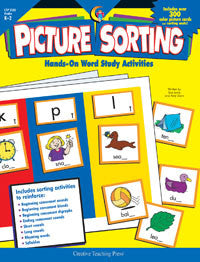 Picture Sorting Book Grades K-2