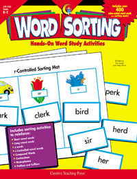 Word Sorting Book Grades K-2