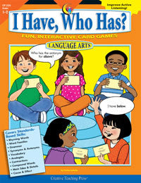 I Have, Who Has Language Arts: Grades 1-2