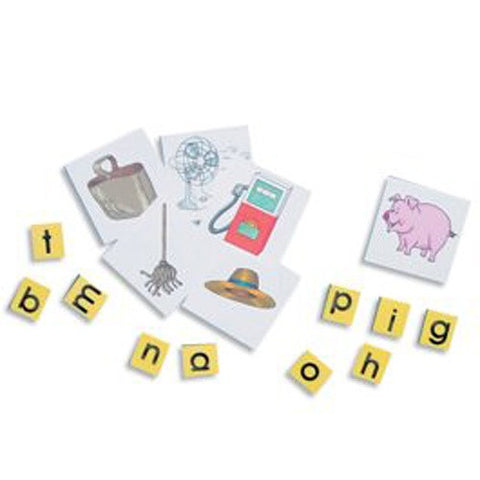 Literacy Task Cards Set 1 - Word Building: Emergent Level