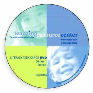 Literacy Task Cards DVD - Set 1 - Word Building