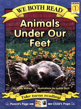 We Both Read-Animals Under Our Feet (PB)