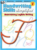 Handwriting Skills Simplified: Level F