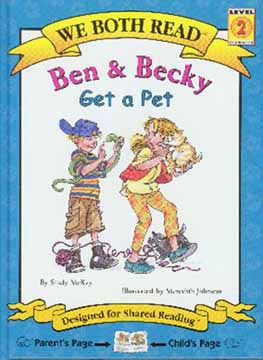 We Both Read-Ben and Becky Get a Pet (PB)