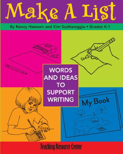 Make a List: Words & Ideas to Support Writing