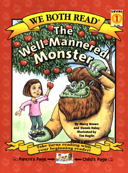 We Both Read-The Well-Mannered Monster (PB)