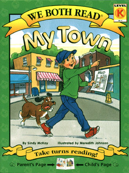 We Both Read-My Town (PB)