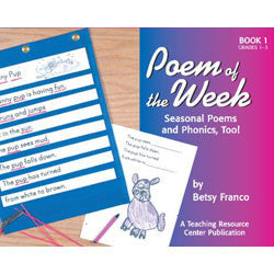 Poem of the Week Book 1: Seasonal Poems and Phonics!