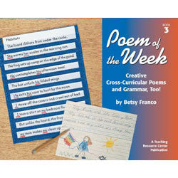 Poem of the Week Book 3: Creative Cross-Curricular Poems and Grammar, Too!
