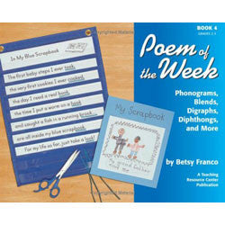 Poem of the Week Book 4: Phonograms, Blends, Digraphs, Diphthongs, and More