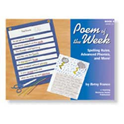 Poem of the Week Book 5: Spelling Rules, Advanced Phonics, and More!