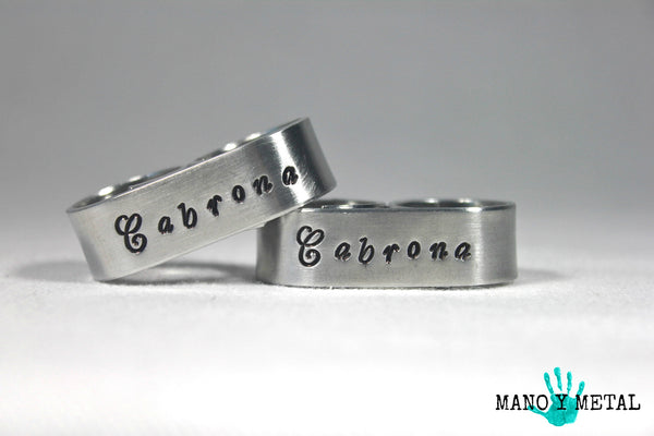 Cabrona {Double-Finger Ring}