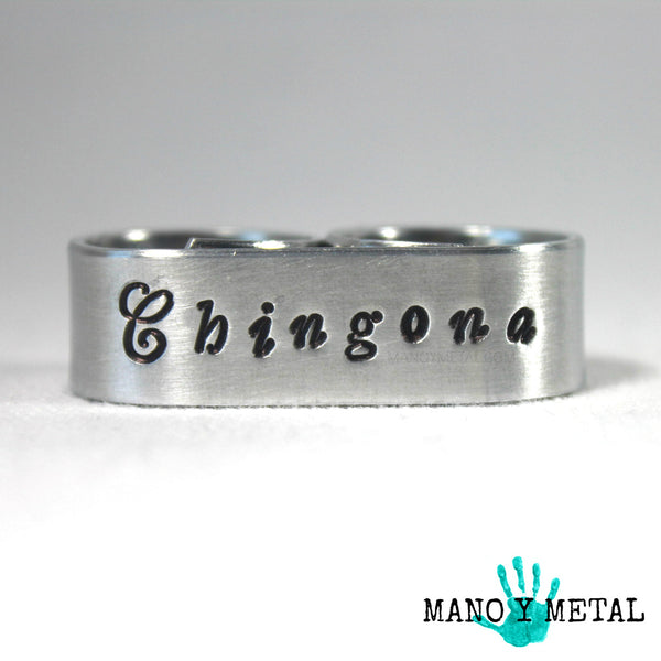 Chingona - Double Finger Ring