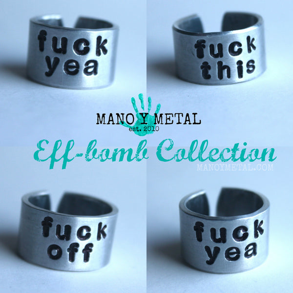 Eff-Bomb Adjustable Ring