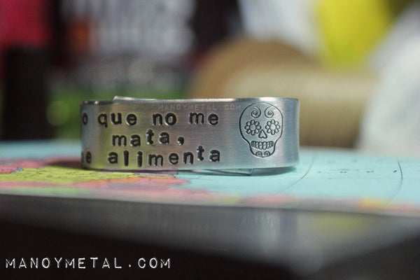 Lo que no me mata, me alimenta // Double Finger Ring