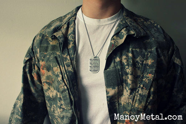 Hecho en Chicago Dog Tag