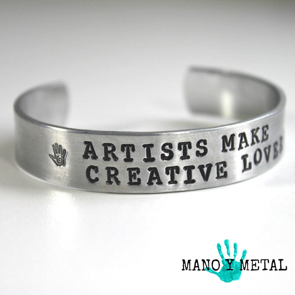 Artists make Creative Lovers::: {thin cuff bracelet}